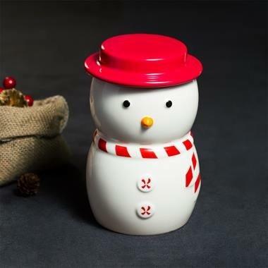 Starbucks City Mug 2015 Snowman Canister