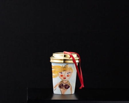 Starbucks City Mug 2015 Illustrated Siren Ornament