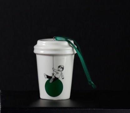 Starbucks City Mug 2015 Swing Ornament