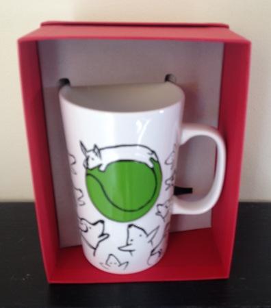 Starbucks City Mug 2015 Dog Sketch Mug