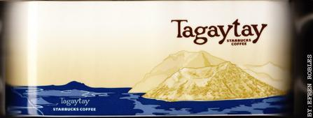 Starbucks City Mug Tagaytay - Taal Volcano