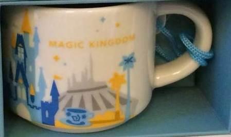Starbucks City Mug Magic Kingdom ornament