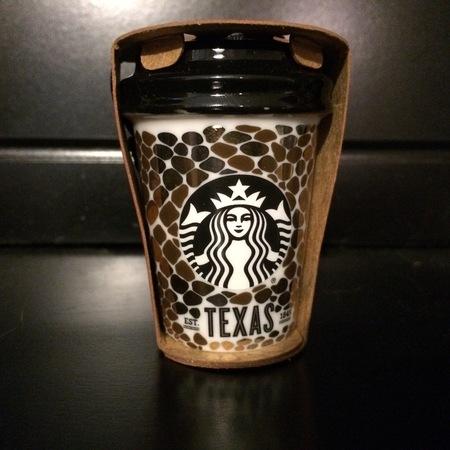 Starbucks City Mug 2015 Texas Ornament