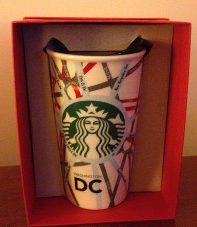 Starbucks City Mug 2015 Washington D.C. Double Wall Traveler