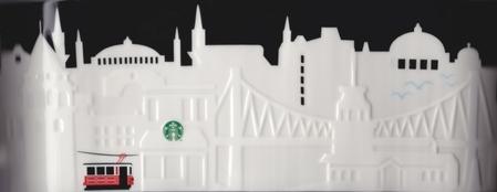 Starbucks City Mug Istanbul Relief Mug