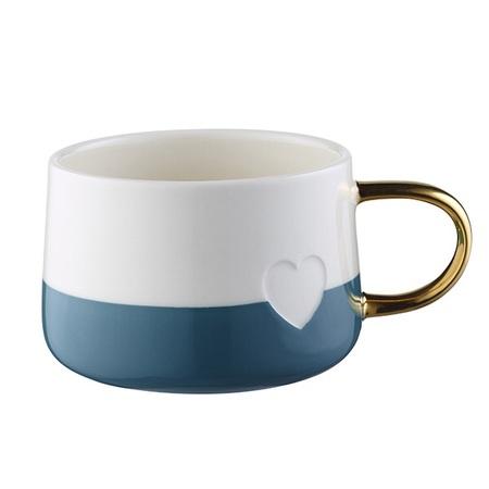 Starbucks City Mug 2016 Valentine\'s Day  Blue and White Mug