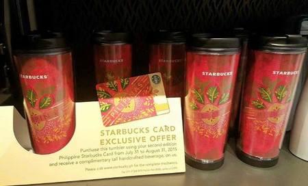 Starbucks City Mug 2nd Edition of Philippine Starbucks Card Promotional Tumbler