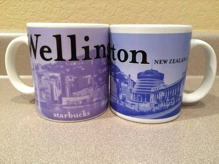 Starbucks City Mug Wellington
