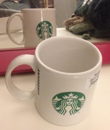 Starbucks City Mug 2011 Logo on Both Sides Mug