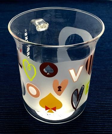 Starbucks City Mug Winter 2016 Love Message Glass Mug