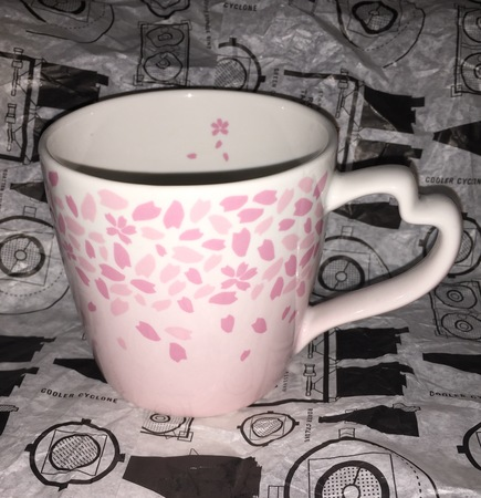 Starbucks City Mug 2013 Cherry Blossom Mug
