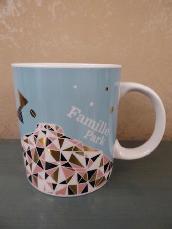 Starbucks City Mug Seoul Famille Park Mug