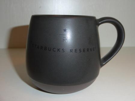 Starbucks City Mug 2015 Charcoal Reserve Mug 8oz