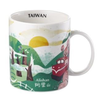Starbucks City Mug Taiwan artsy series 16oz Alishan