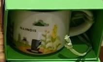 Starbucks City Mug Illinois mini YAH 2016