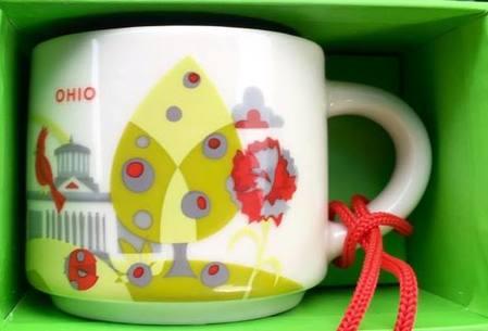 Starbucks City Mug Ohio mini YAH 2016