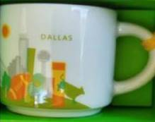 Starbucks City Mug Dallas mini YAH 2016