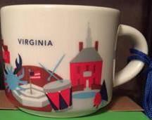 Starbucks City Mug Virginia mini YAH 2016