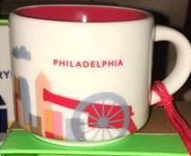 Starbucks City Mug Philadelphia mini YAH 2016