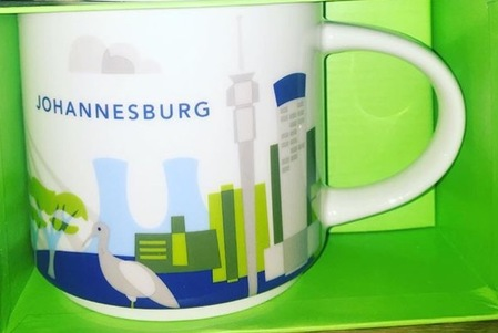 Starbucks City Mug Johannesburg YAH