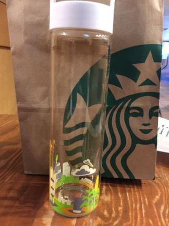 Starbucks City Mug You Are Here Illinois Water Bottle