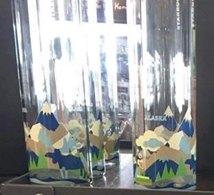 Starbucks City Mug You Are Here Alaska Water Bottle