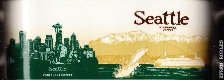 Starbucks City Mug Seattle II - Winslow Ferry