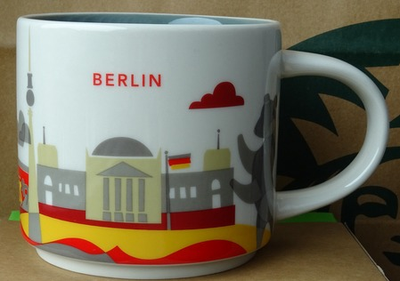 Starbucks City Mug Berlin YAH