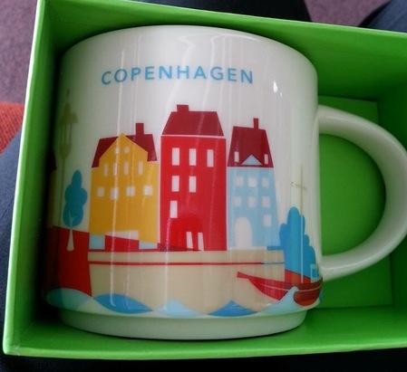 Starbucks City Mug Copenhagen YAH