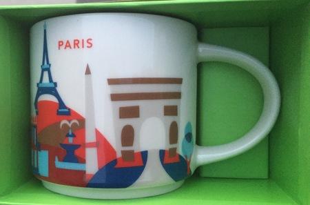 Starbucks City Mug Paris YAH