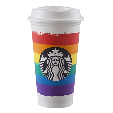 Starbucks City Mug 2016 Pride Reusable Cup