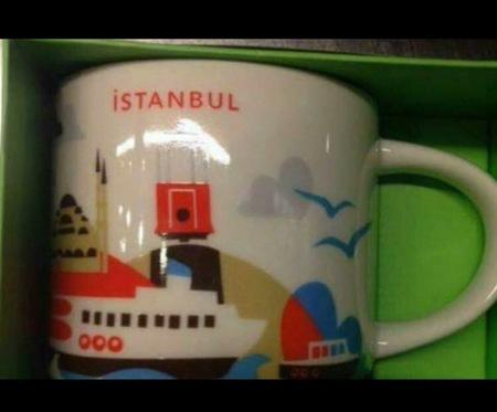 Starbucks City Mug Istanbul
