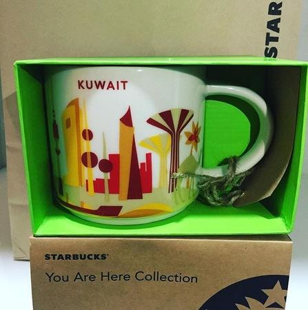Starbucks City Mug Kuwait YAH