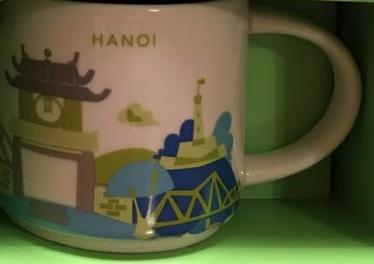 Starbucks City Mug Hanoi YAH