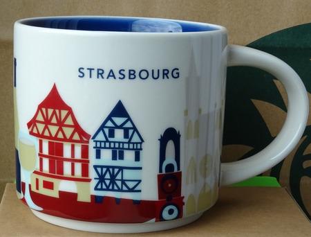 Starbucks City Mug Strasbourg YAH