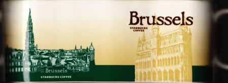 Starbucks City Mug Brussels - Broodhuis