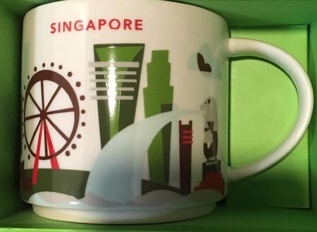 Starbucks City Mug Singapore 1 YAH