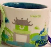 Starbucks City Mug Hanoi Mini YAH 2016