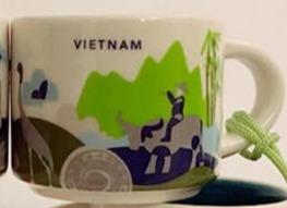 Starbucks City Mug Vietnam Mini YAH 2016
