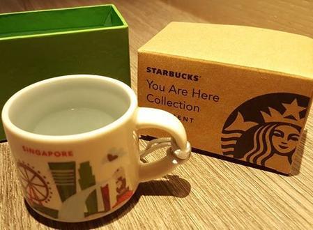 Starbucks City Mug Singapore 1 Mini YAH 2016