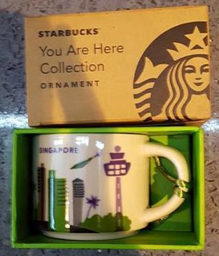 Starbucks City Mug Singapore 2 Mini YAH 2016