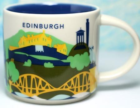 Starbucks City Mug Edinburgh YAH