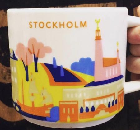 Starbucks City Mug Stockholm YAH