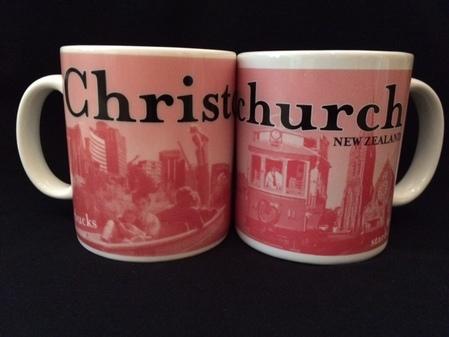 Starbucks City Mug Christchurch 1994 Collector Series Prototype