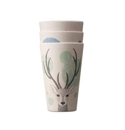 Starbucks City Mug 2016 Woodland Ecocup Set of 3
