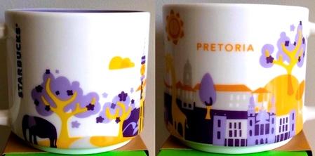 Starbucks City Mug You Are Here In Pretoria