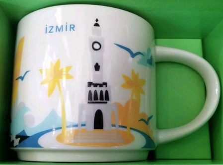 Starbucks City Mug Izmir YAH