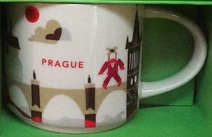 Starbucks City Mug Prague YAH