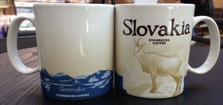 Starbucks City Mug Slovakia - Tatra chamois