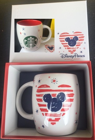 Starbucks City Mug Disneyland 2016 Mug